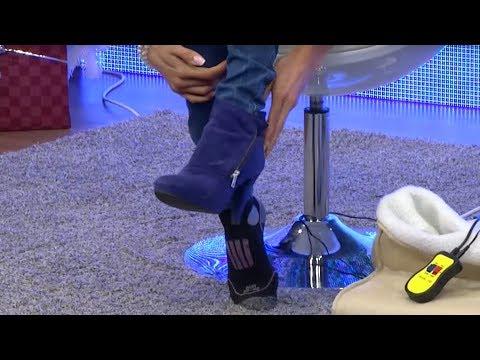 pearl-kuschliges-fußmassagegerät-mit-heizung,-fernbedienung