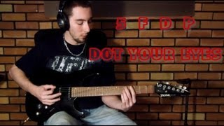 Five Finger Death Punch - Dot Your Eyes (Guitar Cover)