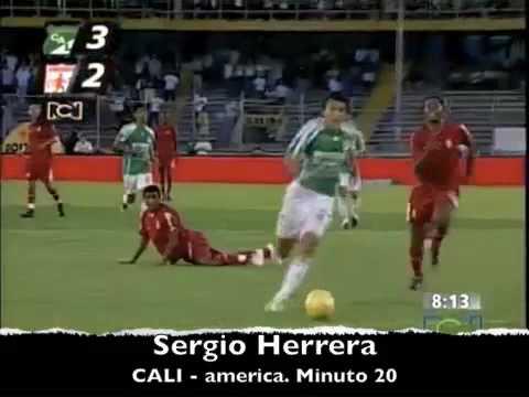 Sergio Herrera contra america