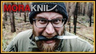 Mythos: Mora Companion - Bestes Bushcraft Messer? 🔪 - Morakniv Review