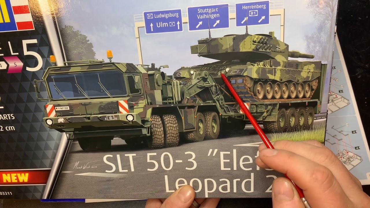 """Neu Revell 03311-1//72 SLT 50-3 /""""Elefant/"""" Leopard 2A4"""