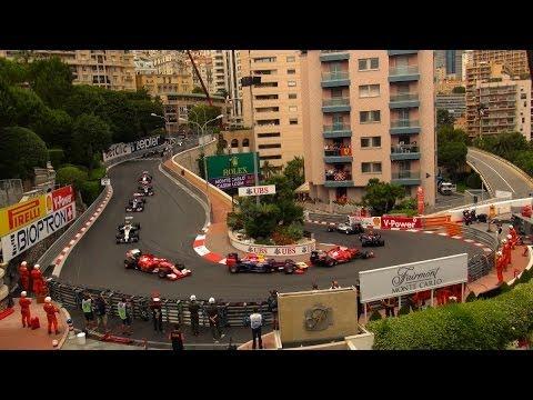 Formula 1 Monaco Grand Prix view from Fairmont Monte Carlo