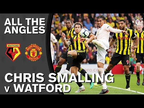 Chris Smalling Left-Foot Volley | All The Angles | Man Utd 2-1 Watford | Premier League 2018/19