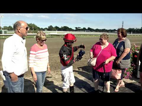 video thumbnail for MONMOUTH PARK 8-24-19 RACE 8