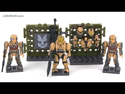 Mega Bloks Halo 97027 UNSC Desert Combat Unit review! - JANGBRiCKS  - Z5ZH1alf9IE -