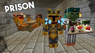 ESCAPE TROLL PRISON OF COPS AND ROBBERS MOD / DON'T GET TROLLED !! Minecraft Mods