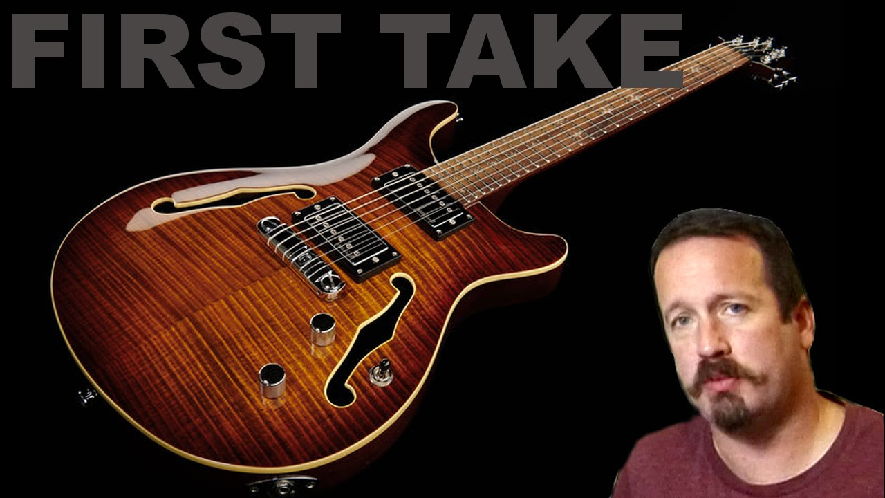 First Take - Harley Benton CST-24HB Semi Hollow PRS Style