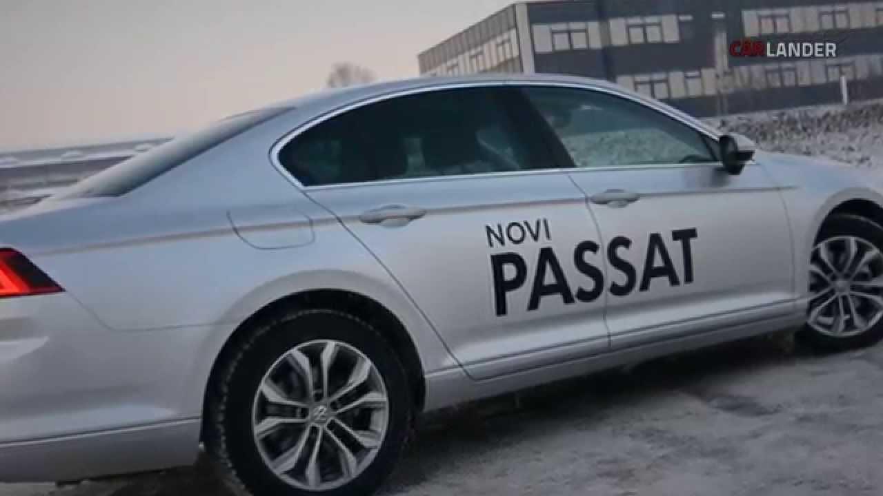 Volkswagen Passat B8 2.0 TDI - YouTube