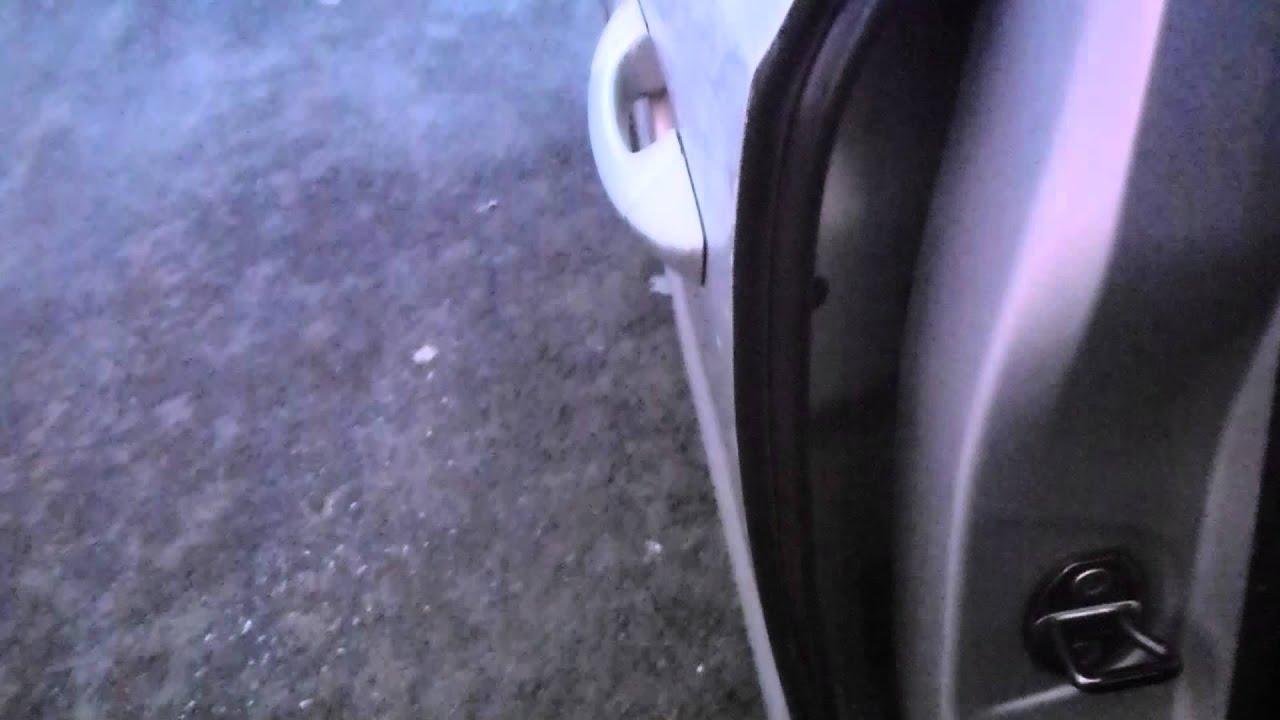 Seat Alhambra Vw Sharan 2011 Frozen Rear Door Handle Lock