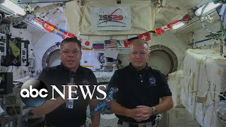 NASA astronauts reflect on 1st private space launch