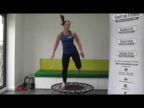 30 minute Rebounding Workout by SanFran Fitness (Bounce Fit)