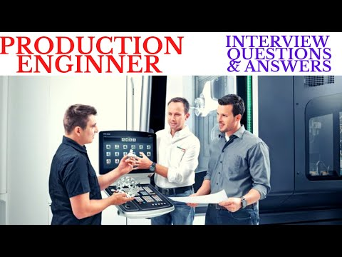 PRODUCTION ENGINEER INTERVIEW QUESTIONS