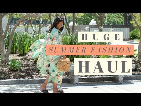 HUGE Summer Fashion Haul | ZARA J.CREW ASOS + MORE! | Chanelfiles