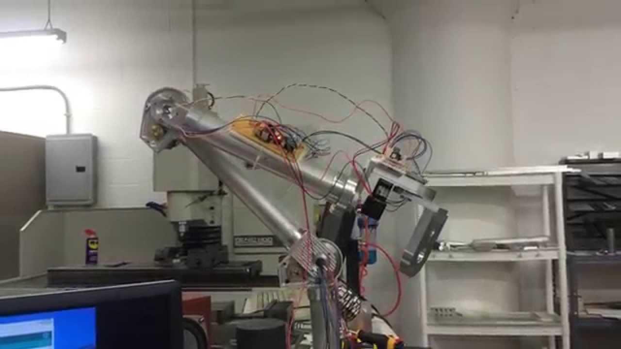DIY 6-Axis Robot Arm Integration Test