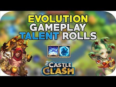 AMAZING Grimfiend Medusa Gameplay Leveling Revitalize Bulwark Talent Rolls Castle Clash