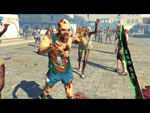 Dying Light City of Walker Zombies Rampage & High Action Parkour Free Roam