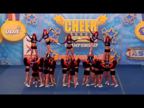 Upac Rock Panthers Cheer Chile 2015