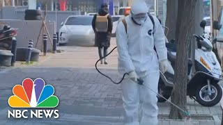 Surge In Coronavirus Outside China Fuels Concerns Of A Potential Global Pandemic | NBC Nightly News