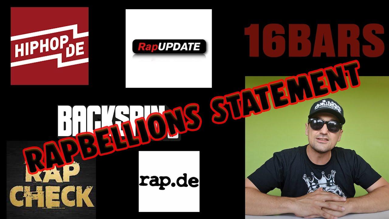 Rapbellions Statement (Platz 1, Zensur, Medienboykott)
