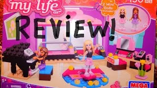 Review Of My Life As Ballet Studio Mega Bloks!