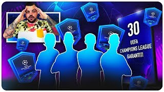 APRO 30 PACK UCL GARANTITI !!! 4 TOP PLAYER - FIFA 19 PACK OPENING