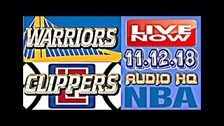 WARRIORS vs CLIPPERS Live Full Game 11.12.18 Score and Free Bets