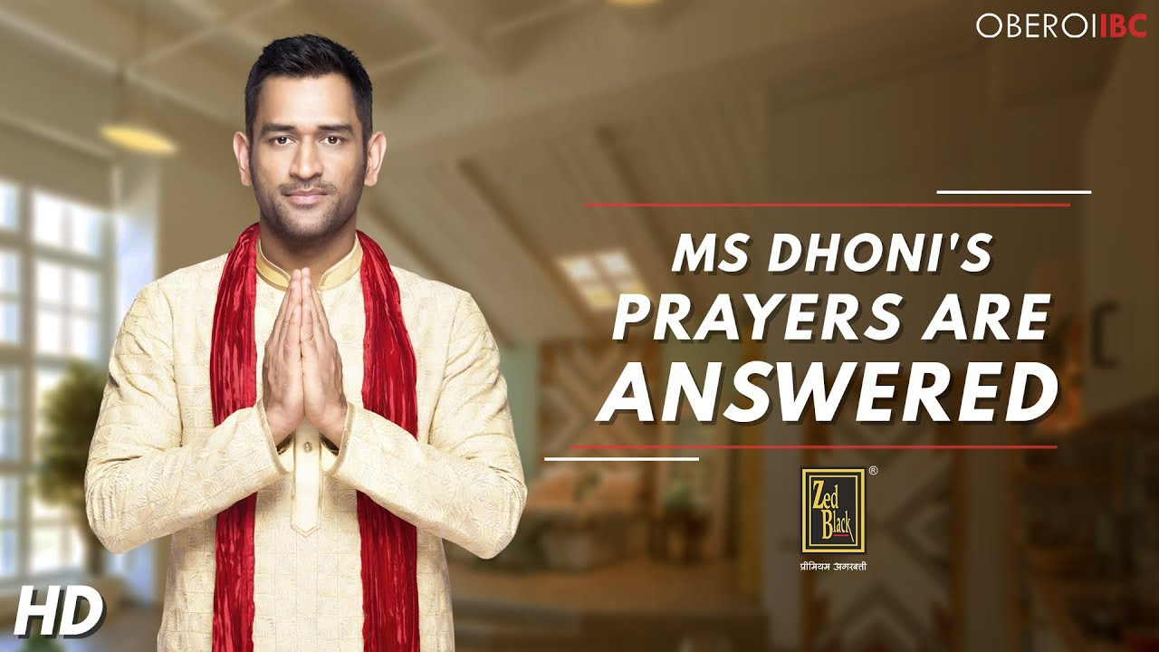 MS Dhoni New Commercial Ad 2017 ( Zed Black ) - YouTube