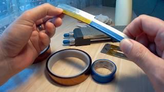 Результат теста и обзор термо-износостойкой ленты Kapton от магазина Gearbest