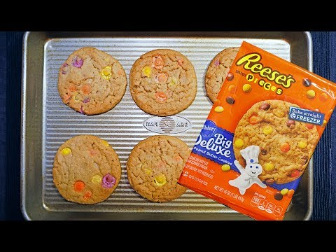 Pillsbury Big Deluxe Reese's Mini Pieces Peanut Butter Cookies
