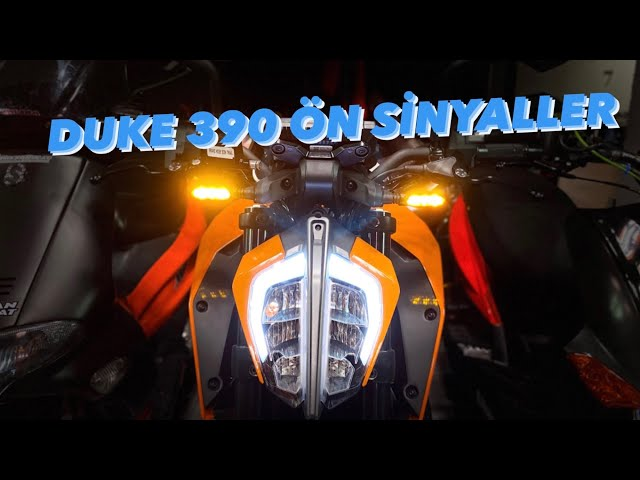 KTM DUKE 390 2. MODİFİYE - SİNYAL - MOTOSİKLET MODİFİYE
