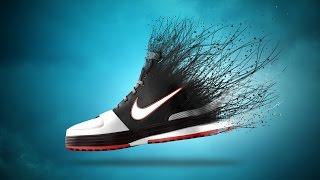 photoshop tutorial   creative shoe dispersion effect   photo manipulation