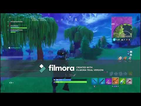 Edit Using Filmora//Fortnite Gameplay Ft. K1L0 Panda and Apples