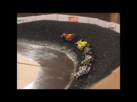 Indycar Stop motion at Long Valley Speedway