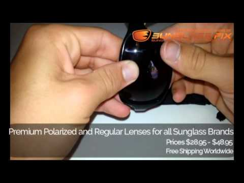 aea20088 Dolce & Gabbana DG418-S Sunglasses, How to replace the Lenses - YouTube