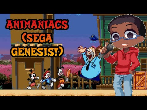 D-Money107 Plays Animaniacs (Sega Genesis)
