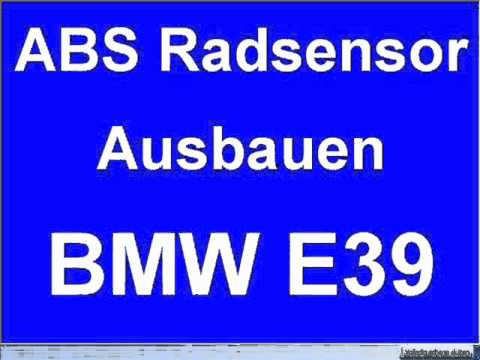 Ausbauen Abs Radsensor Radgeschwindigkeitssensor Hinten