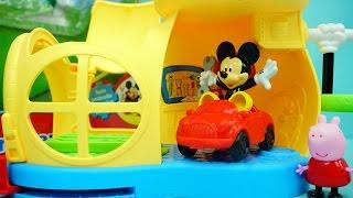 米奇妙妙屋 米奇的超级城堡 迪士尼 玩具 小猪佩奇