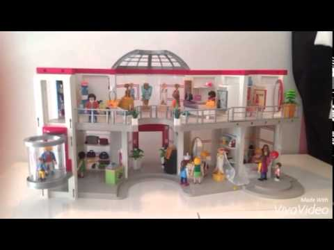video playmobil n 1 centre commercial youtube. Black Bedroom Furniture Sets. Home Design Ideas