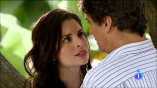 Rodrigo y Corina primer beso