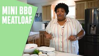 Fresh Dish Foodie: Mini Barbecue Meatloaves