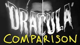 Dracula 1931 Trailer - Homemade (Comparison)