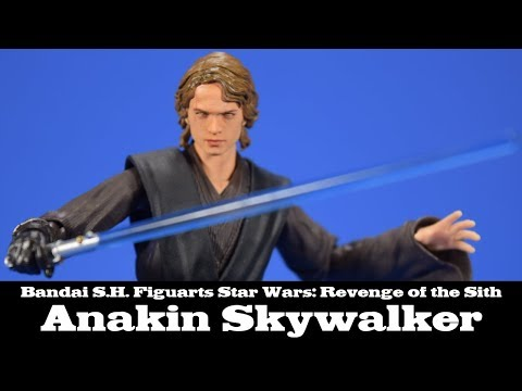 S.H. Figuarts Anakin Skywalker Star Wars EPIII: Revenge Of The Sith Bandai Review