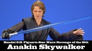 S.H. Figuarts Anakin Skywalker Star Wars EPIII: Revenge of the Sith Bandai Review