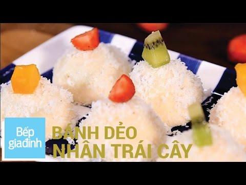 Cách làm bánh dẻo nhân trái cây cho Trung Thu | Bếp Gia Đình