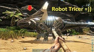 ARK: Survival Evolved (The Island) #2 - Có Cả Khủng Long Robot Triceratops