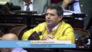 Diputado Olmedo Alfredo Horacio - Sesión 22-12-2016