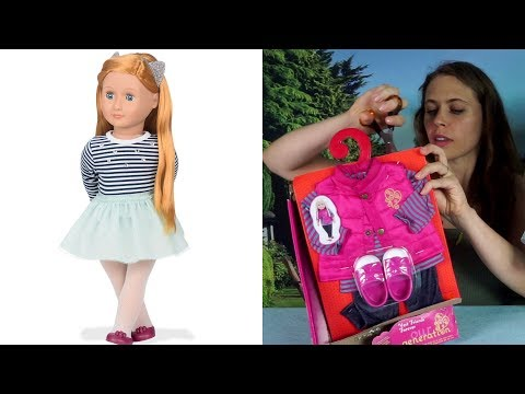 Our Generation Doll Arlee Unboxing Review #118 | CamCamKids