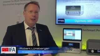 IFA 2015: Neue DAB+ DigitRadios von TechniSat