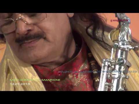 Nagumomu ganale - Saxaphone - Kadri Gobalnath - Shanmukhanandha Sangeetha Saba Tirupur