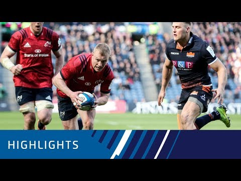 Edinburgh Rugby v Munster Rugby Quarter-final Highlights 30.03.19